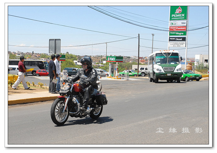 实拍墨西哥摩托党 - Y哥。尘缘 - 心的漂泊