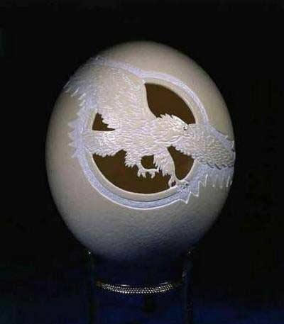 蛋雕艺术  - 愚人 - 愚人 似愚非愚 愚与形而慧与心