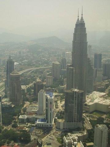 吉隆坡双子星塔(原创) - 木头人 - sampson827的博客