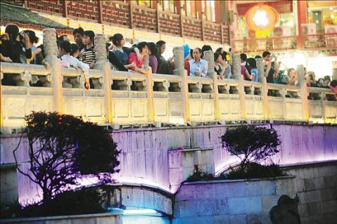 南京文德桥半边月 - 真心朋友 -              放 飞 心 情