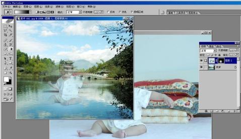 教您把照片和风景融在一起 -缘分
