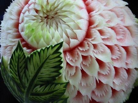 令人惊叹的西瓜雕刻艺术图片