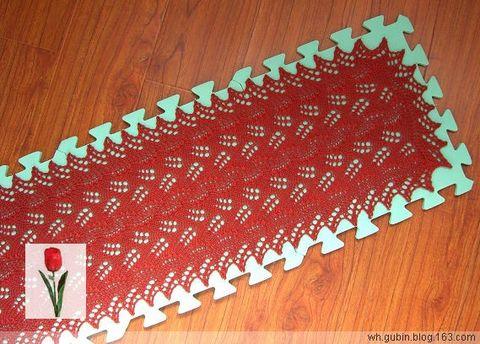 绯红叶子围巾 - 红色郁金香 - 我的博客