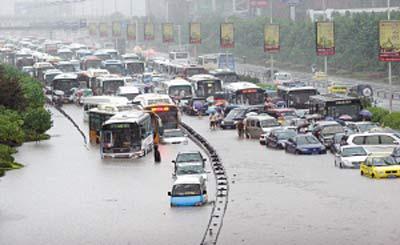 2007年7月17日 重庆特大暴雨 - 笑遍世界 - 笑遍世界的网上家园