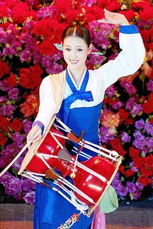 朝鲜四大美女的私密写真(组图)