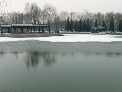 雪战兴隆公园 - 一叶小舟 - 一叶小舟之舱