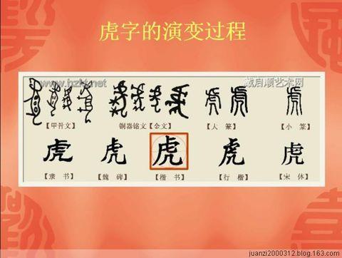 古代汉字的演变 - 楚天 - lqp59(楚天)的博客