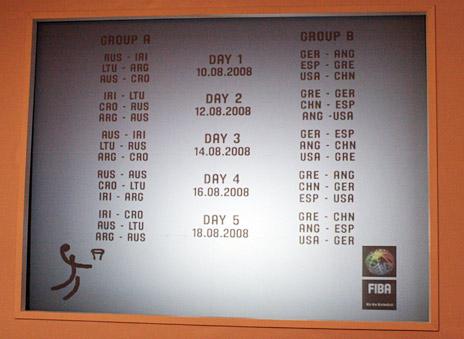 奥运男篮分组确定 中国又添希腊德国两劲敌 - lx3com - lx3com太上老君的博客