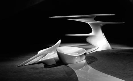 Zaha Hadid  家具作品 - 张 杰 - iDesign