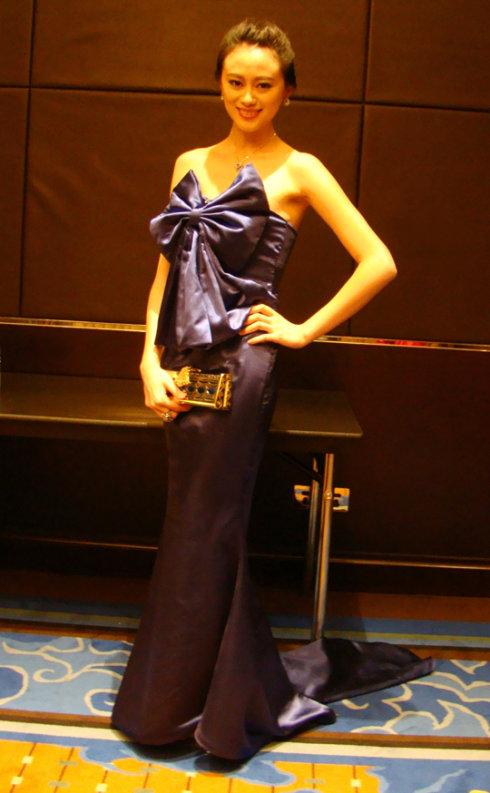 参加BQ2009红人榜颁奖盛 大运会海上宣言 - 戴菲菲 - 菲比寻常—戴菲菲