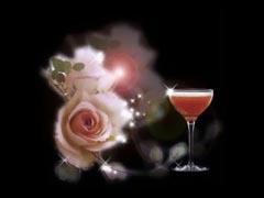 黑色背景--美酒.鲜花.美食 - 香儿 - 香儿