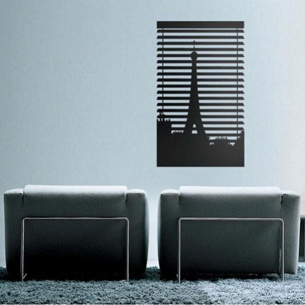 科大艺术墙绘推荐虚实结合的装饰墙画 - hòu yuàn - hòu yuàn