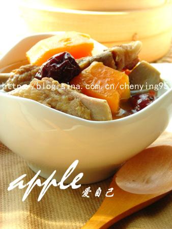 27道视觉系饭菜让春天的餐桌闪亮起来:木瓜红枣炖排骨 - 可可西里 - 可可西里