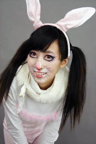 说说最近的~~动物妆由于很多同学都要上课