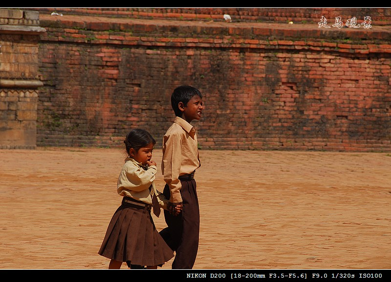 尼泊尔人物 - 西樱 - 走马观景
