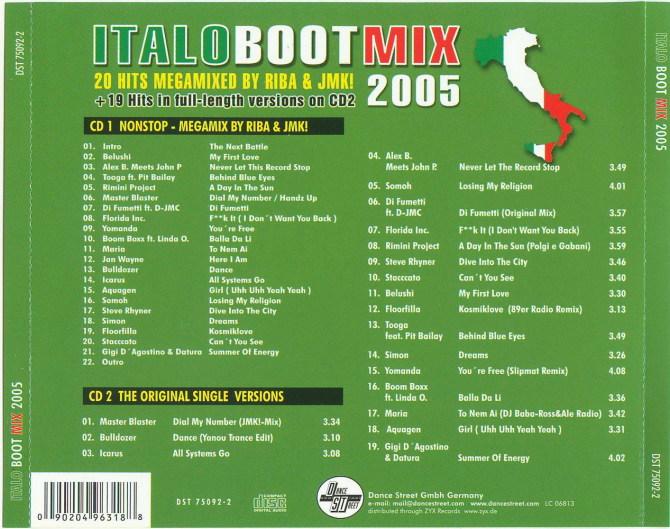 Italo Boot Mix 2005 - 意大利铁匠 - 分享劲爽节奏--XINBO21