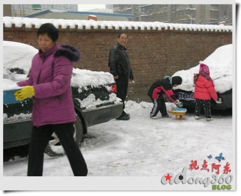 [摄影]冬日笑语:2008年的第一场雪 - 视点阿东 - 视点阿东