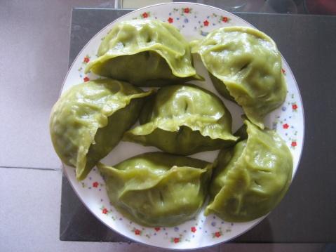 原创翡翠蒸饺[图文] - 微尘 - 消化百味 享受快乐