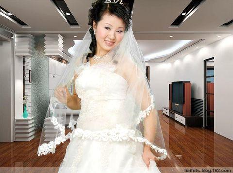 我的作品-透明婚纱完美抠图 - 不可不信 - .