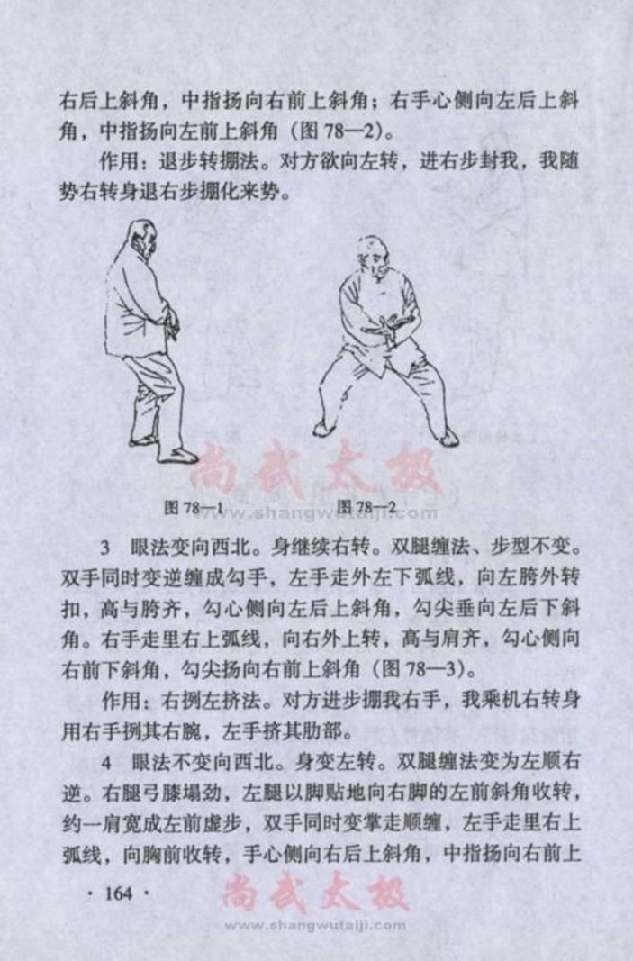 引用 陈式太极拳实用拳法 七十二式顺拦肘至收式 - 蓝色小溪 - 蓝色小溪