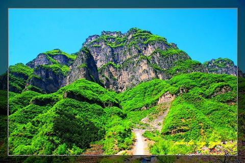 [原创]神州山水(17)山西陵川锡崖沟《》 - 自由诗 - 人文历史自然 诗词曲赋杂谈