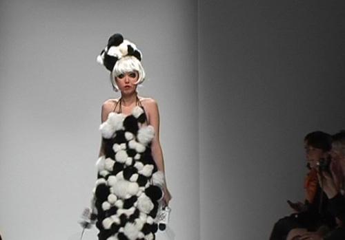 中国娱记蹬上法国T型台 - 赵半狄 - 熊猫艺术家赵半狄的博客