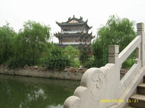 (原创)江苏丹徒真武院句容葛仙湖风景2008.6.8 - 寒山石 - 寒山石的博客
