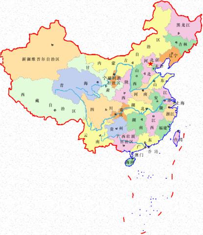 青海省,广东省