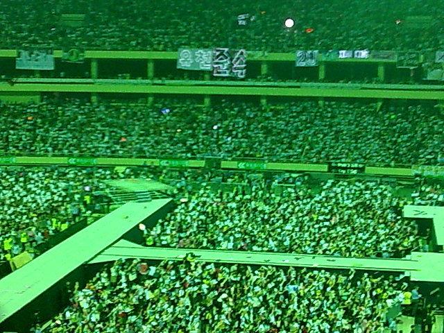 转载:虹口体育场内的感动 - Cassiopeia - 我的Paradise