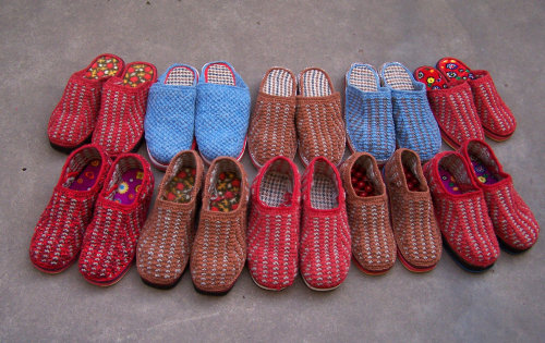 钩针编织拖鞋视频 钩针编织拖鞋教程 钩针编织拖鞋花样 高清图片