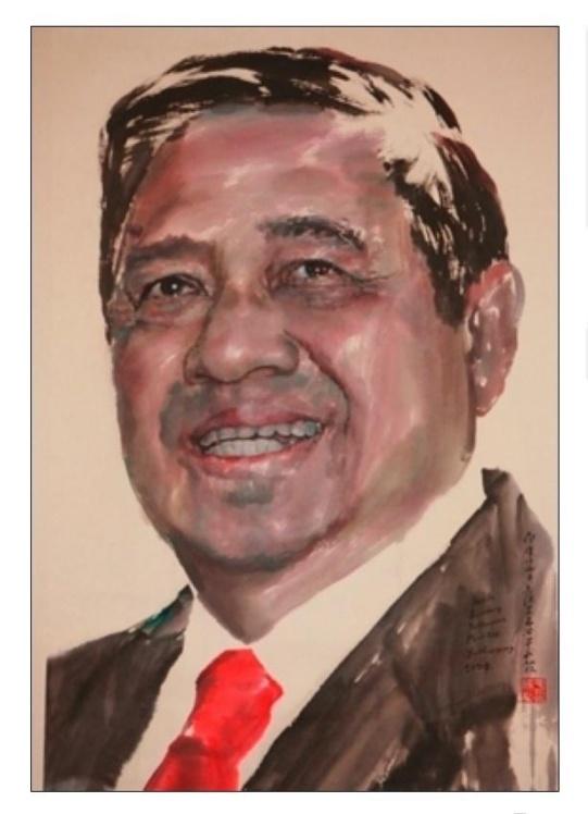 欣赏一组特殊的人物肖像画---于成松的23幅峰会首脑肖像作品 - april-jutta001 - jutta001的博客