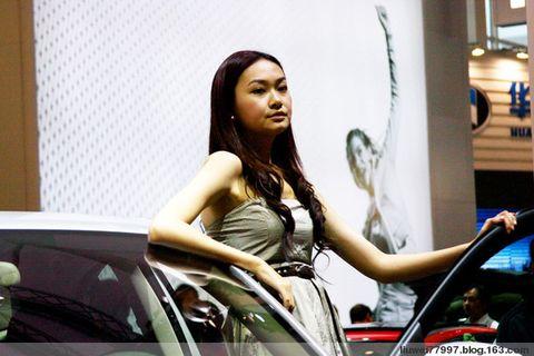 看车展--模特1 - 刘炜大老虎 - liuwei77997的博客