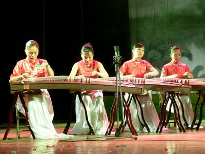 广西古筝学会成立音乐会华丽上演 - 林德荣 - 林德荣证券股票分析博客