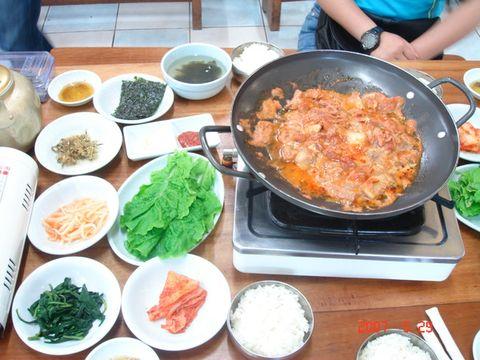 韩国美食 - 玫瑰叶子 - 雾山红叶