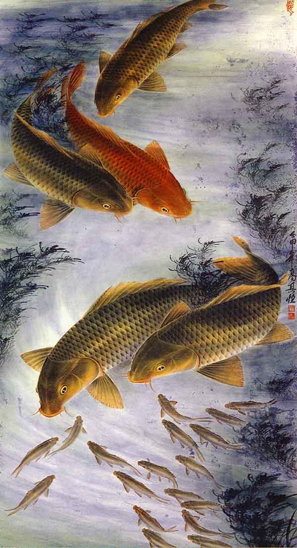 【转】 令人拍案叫绝的画作——鱼图 - min.g1215 - min.g1215的博客