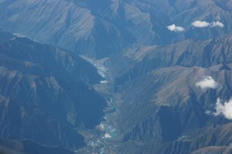 青藏高原的一束蓝带