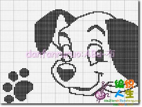 大家关注的狗狗图案成品及(图解) - 梅兰竹菊 - 梅兰竹菊的博客
