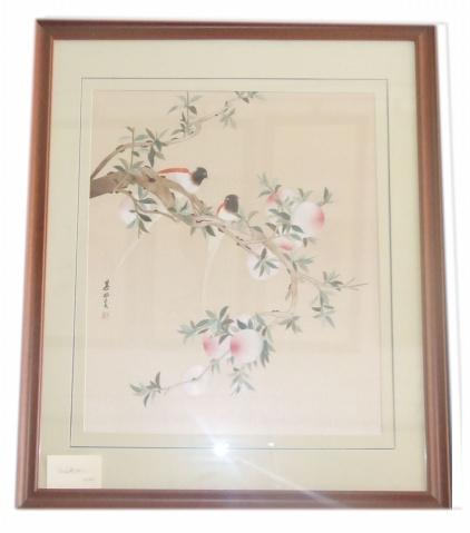 宋人花鸟壁挂2