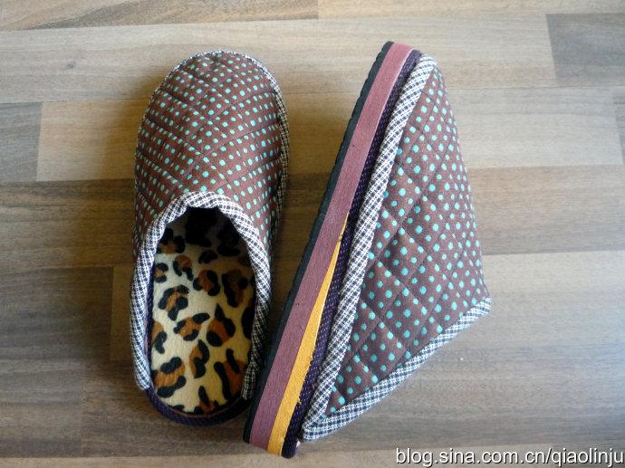 自制棉拖鞋