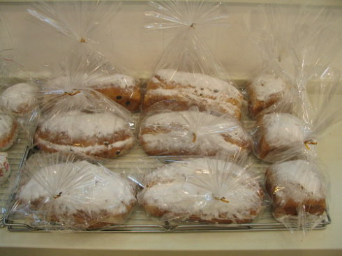 我的圣诞情结(一):圣诞节的史多伦(Stollen)面包