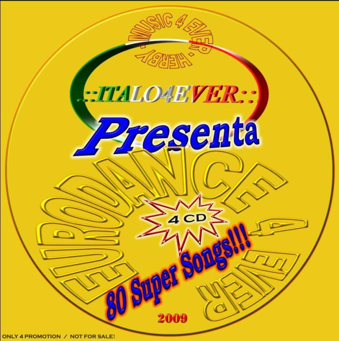 VA-Italo 4 Ever Pres Eurodance 4 Ever-(4CD)-WEB-2009-M4E-192kbps - 意大利铁匠 - 分享劲爽节奏--XINBO21