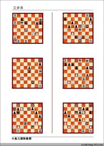 三步杀(09年元月19日-元月25日) - 南通小鱼儿--二附国际象棋培训基地 - 二附国际象棋--小鱼儿的博客