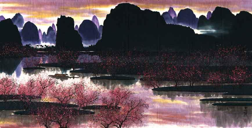 【转载】国画典藏精品(一) - 君子兰 - 松花江畔 君子兰的博客