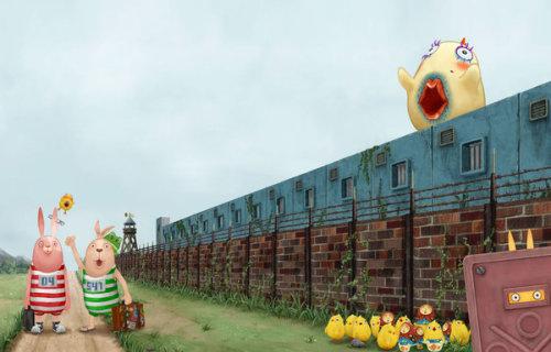 ウサビッチ普京兔和基里连科兔的监狱生活 - 一叶小舟 - 一叶小舟之舱