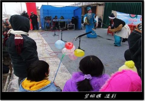柳琴戏在乡村 - 紫蝴蝶 - 紫蝴蝶的视觉世界