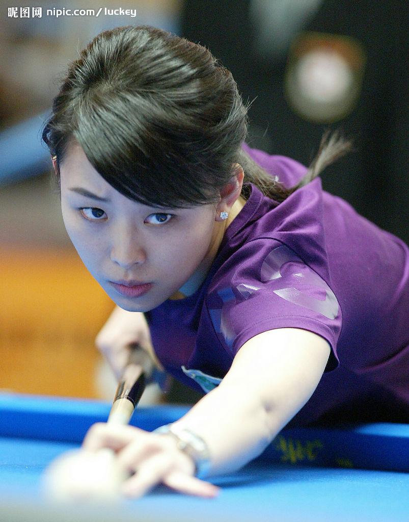中国体坛第一美女九球天后潘晓婷