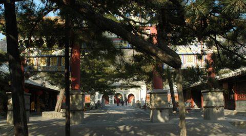 [原创摄影]北京西郊的古刹--潭柘寺 - 松江蓑笠翁hitcdw - hitcdw摄影、旅游