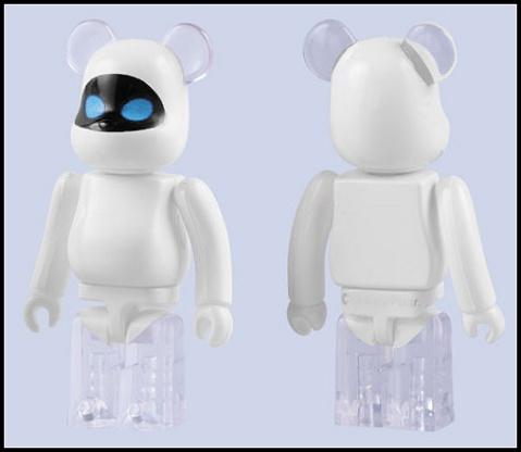 Wall-E  Eve Be@rbrick - FreshBoy - FreshBoys Park
