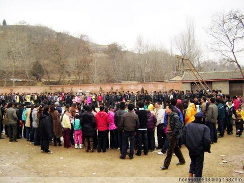 红河乡花石村举办喜迎建国60周年篮球友谊邀请赛 - 写意红河故里 -