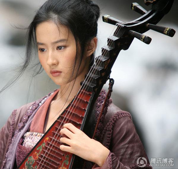 盘点2008电影里的十大华语美女 赤脚行走